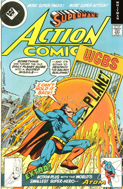 Cover for Action Comics (DC, 1938 series) #487