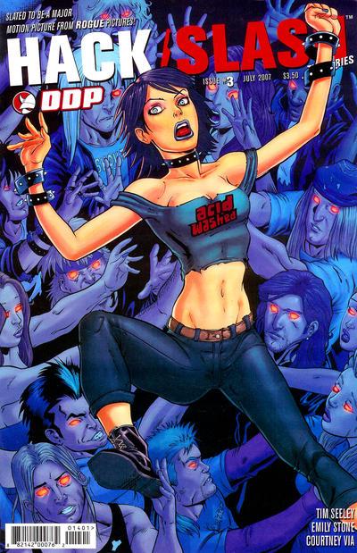 Cover for Hack/Slash: The Series (Devil's Due Publishing, 2007 series) #3