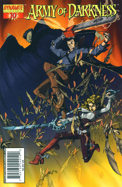Cover for Army of Darkness (Dynamite Entertainment, 2005 series) #10 [Cover B]