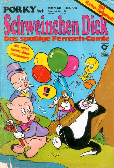 Cover for Schweinchen Dick (Condor, 1972 series) #98