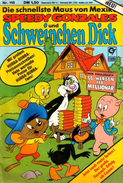 Cover for Schweinchen Dick (Condor, 1972 series) #118