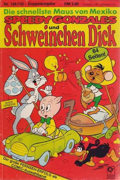 Cover for Schweinchen Dick (Condor, 1972 series) #134/135