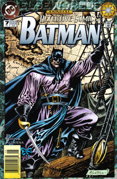 Cover for Detective Comics Annual (DC, 1988 series) #7 [Direct Sales]