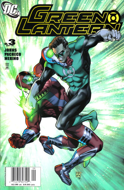 Cover for Green Lantern (DC, 2005 series) #3 [Direct Sales]