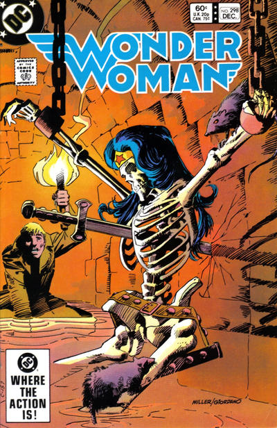 Cover for Wonder Woman (DC, 1942 series) #298 [Direct]