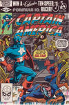 Cover for Captain America (Marvel, 1968 series) #265 [Direct]