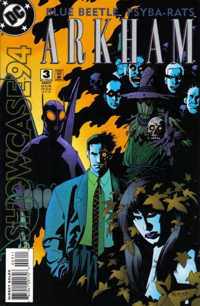 Cover for Showcase '94 (DC, 1994 series) #3 [Newsstand]