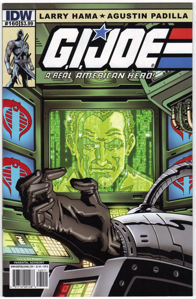 Cover for G.I. Joe: A Real American Hero (IDW, 2010 series) #160 [Retailer Incentive Cover]