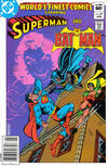 Cover Thumbnail for World's Finest Comics (1941 series) #287 [Newsstand]