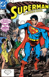 Cover for Superman (DC, 1987 series) #10 [Direct]