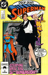 Cover for Superman (DC, 1987 series) #11 [Direct]