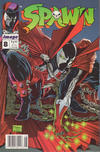 Cover for Spawn (Image, 1992 series) #8 [Newsstand]
