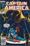 Cover for Captain America (Marvel, 1968 series) #296 [Newsstand]