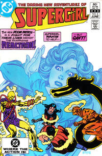 Cover Thumbnail for The Daring New Adventures of Supergirl (DC, 1982 series) #8 [Direct-Sales]