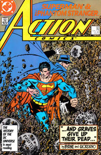 Cover Thumbnail for Action Comics (DC, 1938 series) #585 [Direct Sales]