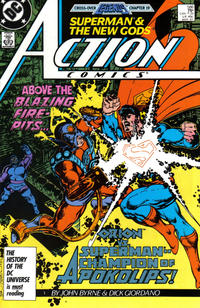 Cover Thumbnail for Action Comics (DC, 1938 series) #586 [Direct]
