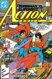 Cover Thumbnail for Action Comics (DC, 1938 series) #591 [Direct]