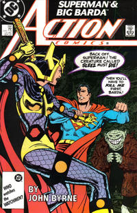 Cover Thumbnail for Action Comics (DC, 1938 series) #592 [Direct Edition]