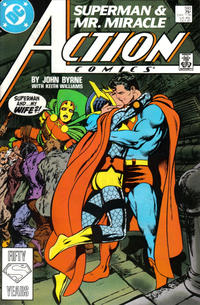 Cover Thumbnail for Action Comics (DC, 1938 series) #593 [Direct]