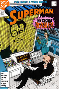 Cover Thumbnail for Superman (DC, 1987 series) #2 [Direct Edition]