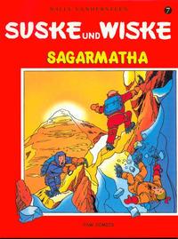Cover Thumbnail for Suske und Wiske (PSW Comics, 1998 series) #7 - Sagarmatha
