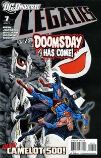 Cover Thumbnail for DCU: Legacies (DC, 2010 series) #7 [Regular Cover]