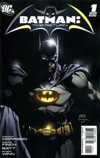 Cover Thumbnail for Batman: The Return (DC, 2011 series) #1