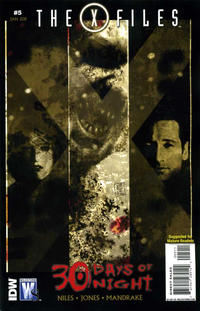 Cover Thumbnail for The X-Files / 30 Days of Night (DC, 2010 series) #5