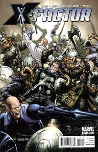 Cover for X-Factor (Marvel, 2006 series) #211