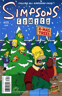 Cover Thumbnail for Simpsons Comics (Bongo, 1993 series) #172