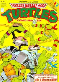 Cover for Teenage Mutant Hero Turtles (Condor, 1990 series) #12