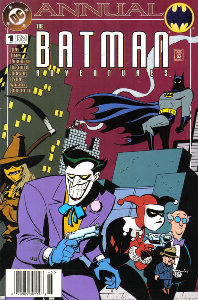 Cover for The Batman Adventures Annual (DC, 1994 series) #1 [Newsstand]