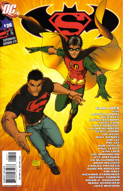Cover for Superman / Batman (DC, 2003 series) #26 [Robin Cover]