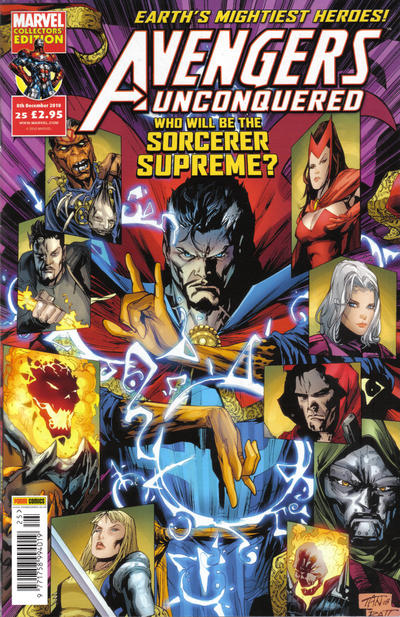 Cover for Avengers Unconquered (Panini UK, 2009 series) #25