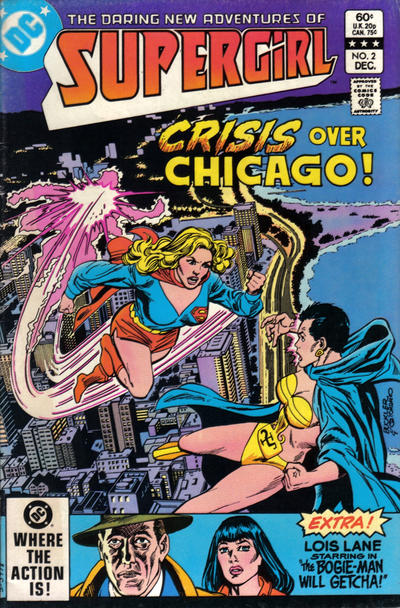 Cover for The Daring New Adventures of Supergirl (DC, 1982 series) #2 [Direct]