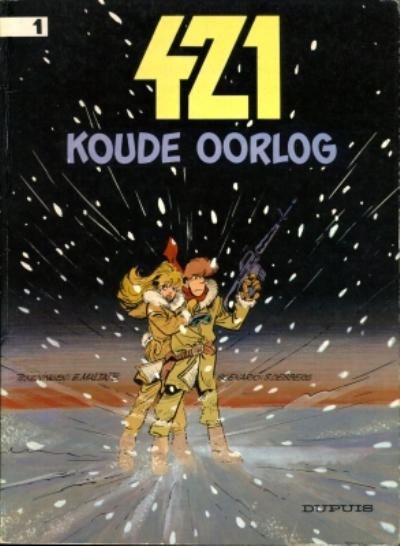 Cover for 421 (Dupuis, 1984 series) #1