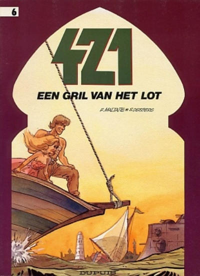 Cover for 421 (Dupuis, 1984 series) #6