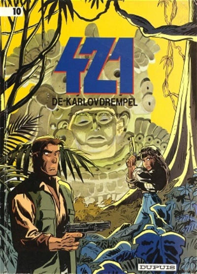 Cover for 421 (Dupuis, 1984 series) #10