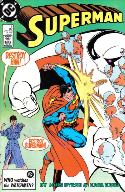 Cover for Superman (DC, 1987 series) #6 [Direct]