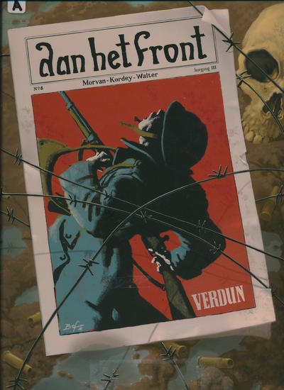 Cover for Aan het front (Silvester, 2008 series) #2