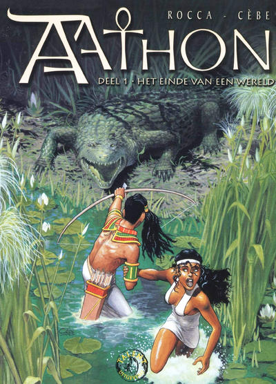 Cover for Aathon (Talent, 2006 series) #1 - Het einde van een wereld