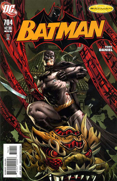 Cover for Batman (DC, 1940 series) #704