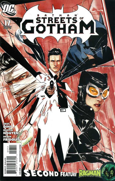 Cover for Batman: Streets of Gotham (DC, 2009 series) #17