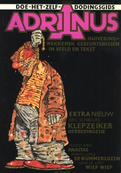 Cover for Adrianus Doe-het-zelf-dodingsgids (Van Wulften, 1983 series)