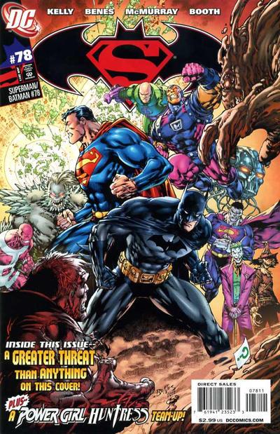 Cover for Superman / Batman (DC, 2003 series) #78