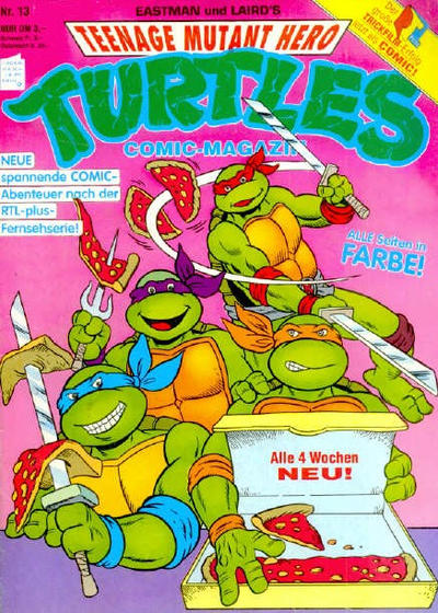 Cover for Teenage Mutant Hero Turtles (Condor, 1990 series) #13