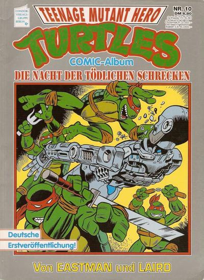 Cover for Teenage Mutant Hero Turtles (Condor, 1991 series) #10