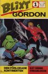 Cover for Blixt Gordon (Semic, 1967 series) #1/1968
