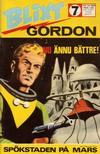 Cover for Blixt Gordon (Semic, 1967 series) #7/1969