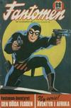 Cover for Fantomen (Semic, 1963 series) #1/1972